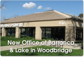 Woodbridge Optometry office at 4505 Barranca Parkway, Suite C in Irvine, CA