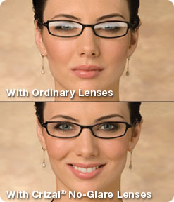 Crizal No Glare Lenses - Woodbridge Optometry