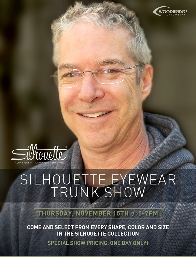 Woodbridge Irvine Silhouette trunk show
