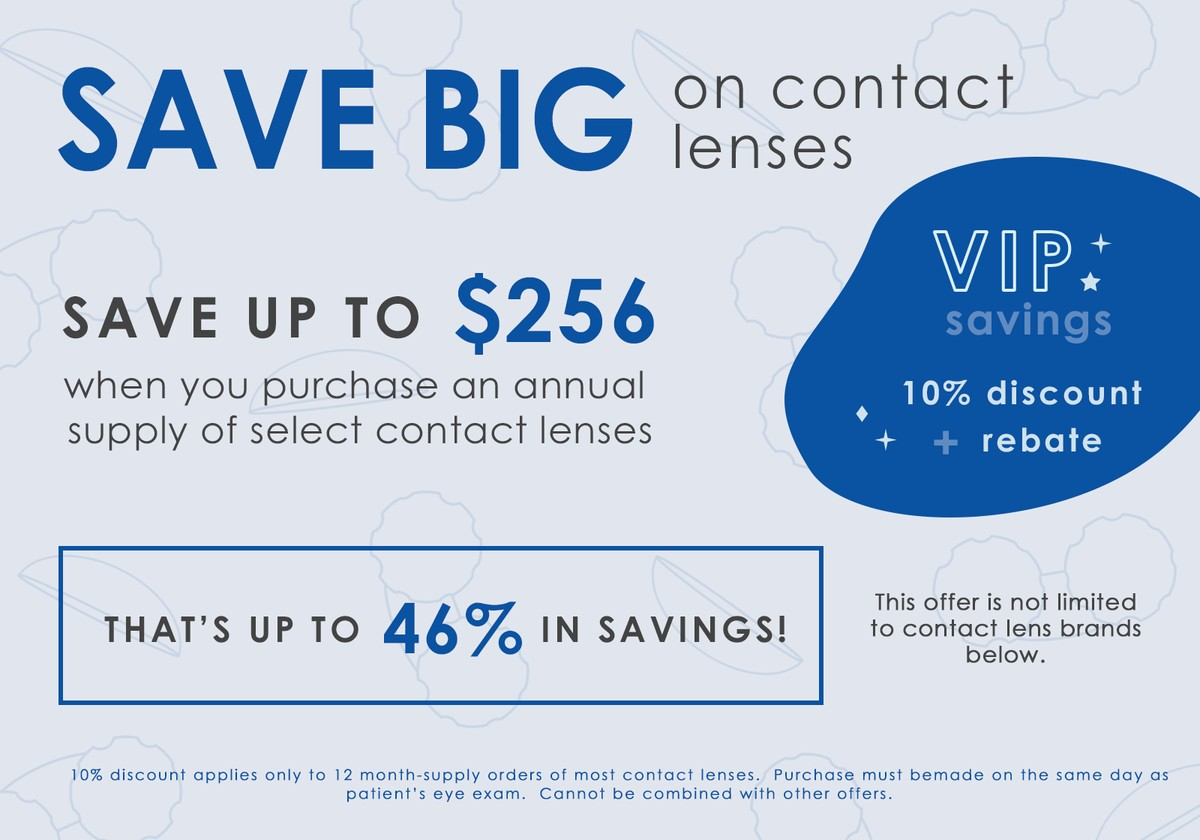 contact lens special offers save up to 46 percent