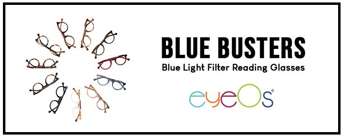Blue Busters blue light filter glasses