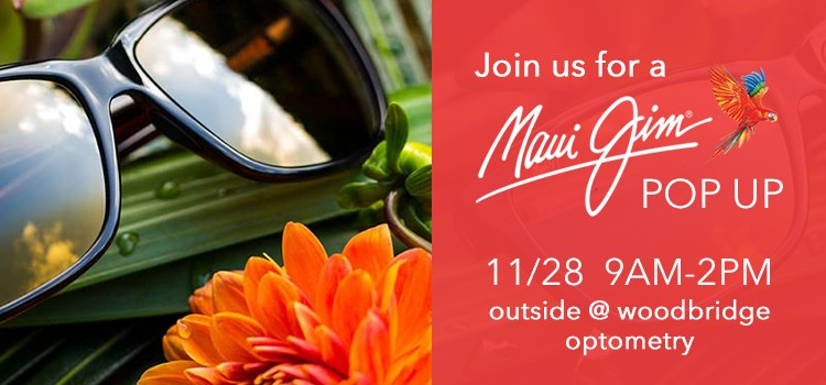 Maui Jim Pop Up in Irvine 11/23/202